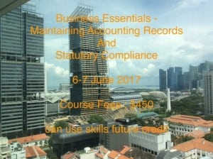 Maintaining Accounting Records and Statutory Compliance Course